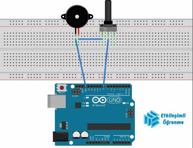Arduino - Buzzer ile İstiklal Marşı